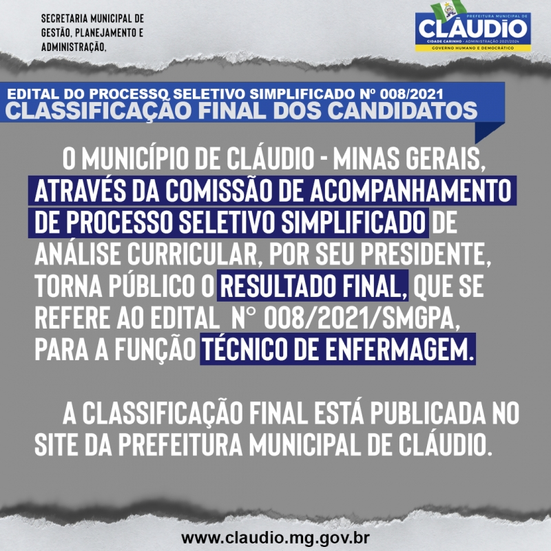 Noticia processo-seletivo-simplificado-n-0082021smpga---classificacao-final-dos-candidatos